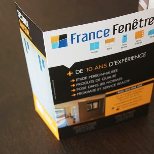 Dépliant France fenêtres