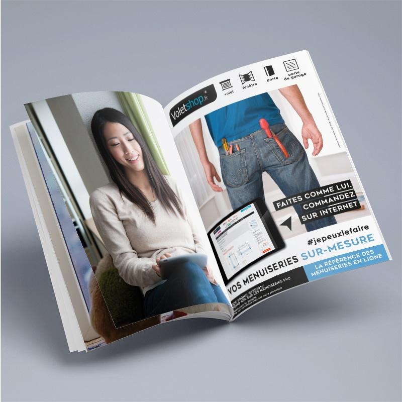 Publicité magazine voletshop