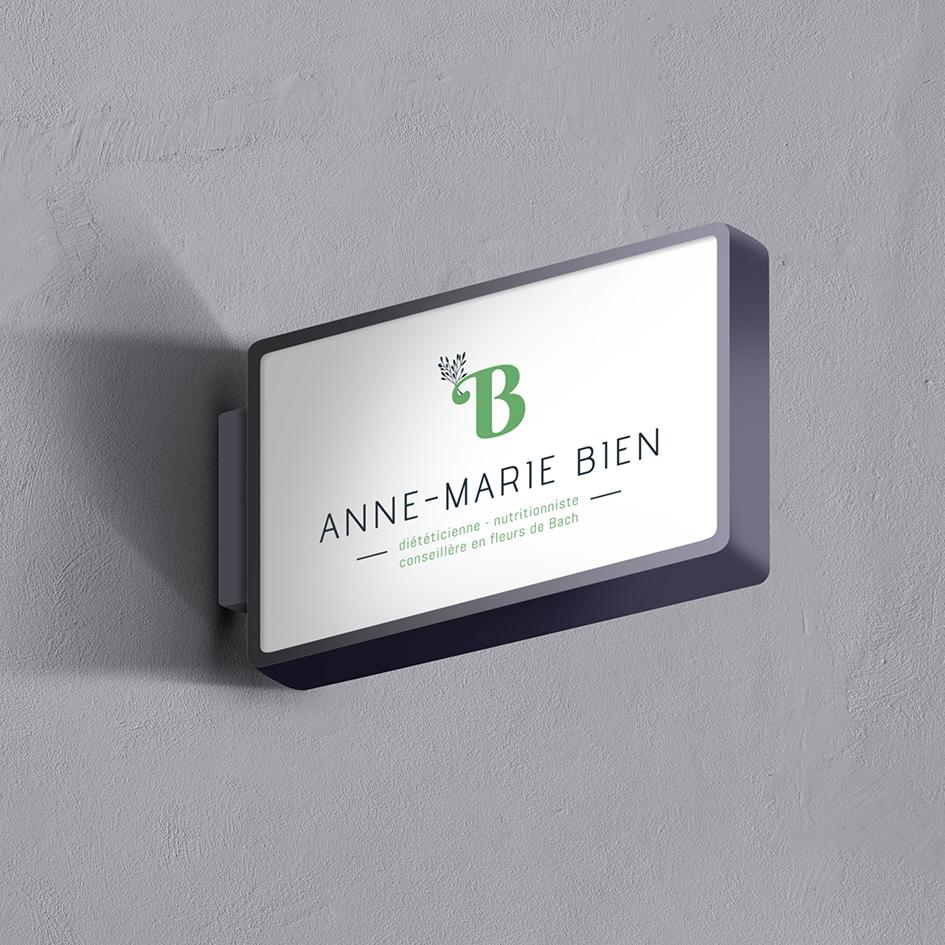 Modernisation identité visuelle Anne-Marie Bien