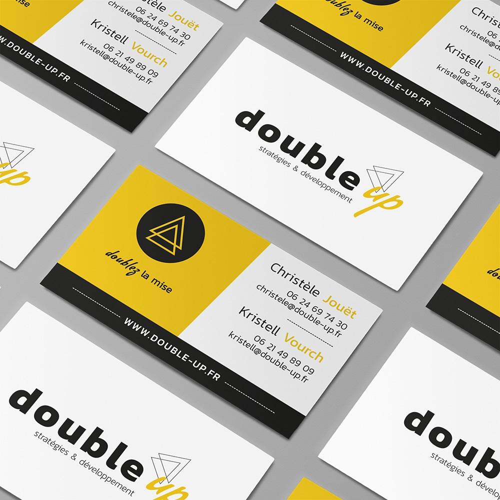 Conseil et création graphique : double-up