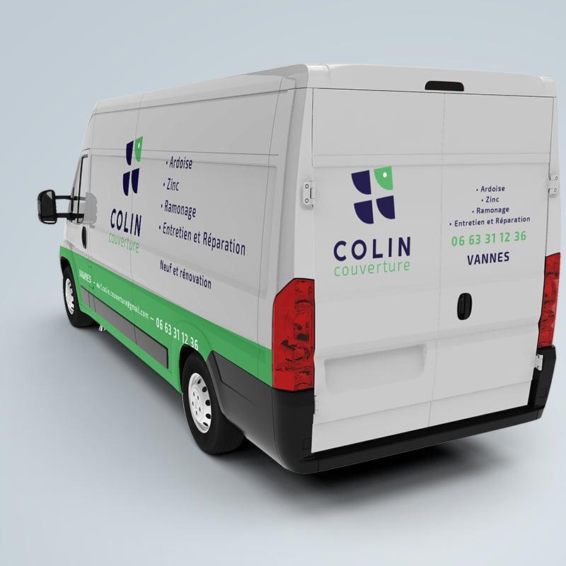 Colin Couverture - vannes - camion - flocage