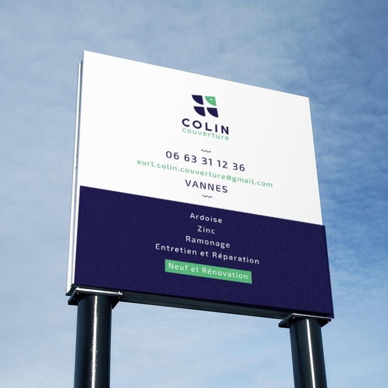 Colin Couverture - vannes - enseigne
