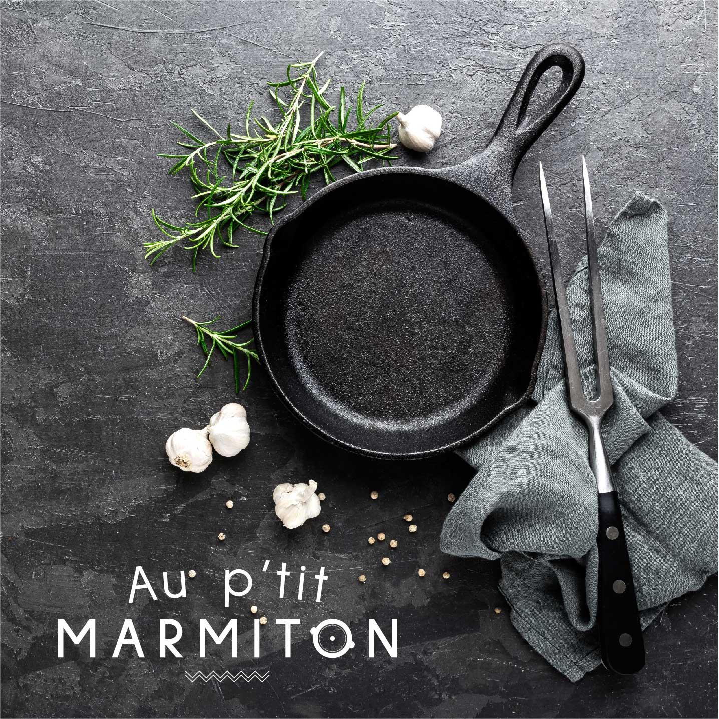 Au p'tit marmiton - reAu p'tit marmiton - restaurant - vannes - logo